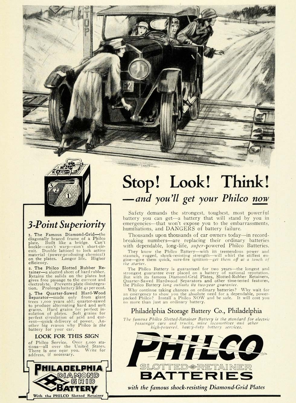1923 Philco Batteries