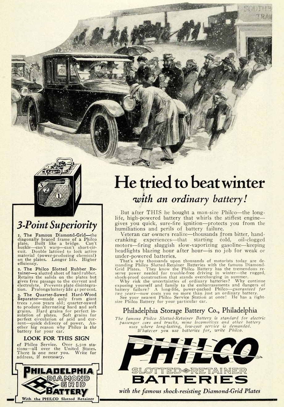 1923 Philco Batteries 2
