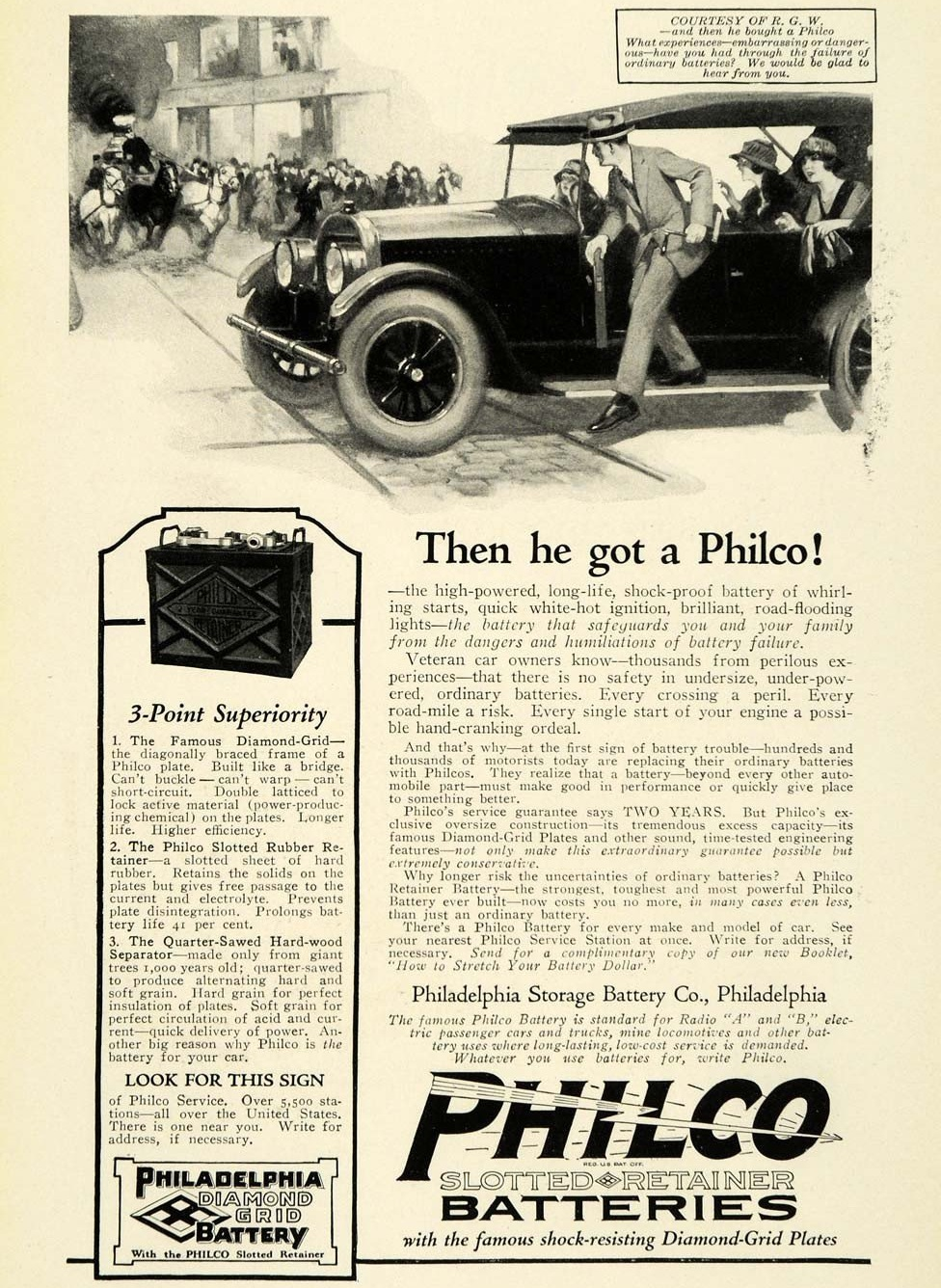 1923 Philco Batteries 3