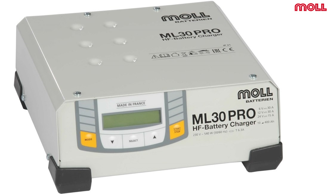 MOLL ML30 PRO battery charger 001
