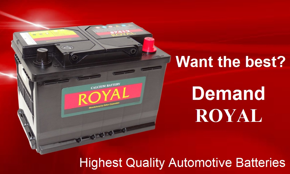 ROYAL highest quality batteries